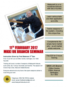 Feb 2017 MKKI-UK Senminar
