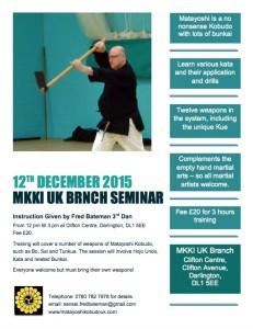 MKKI UK Dec 2015 Seminar